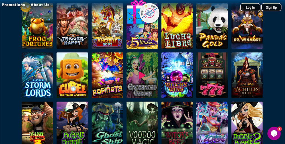 African Grand Online Casino Games
