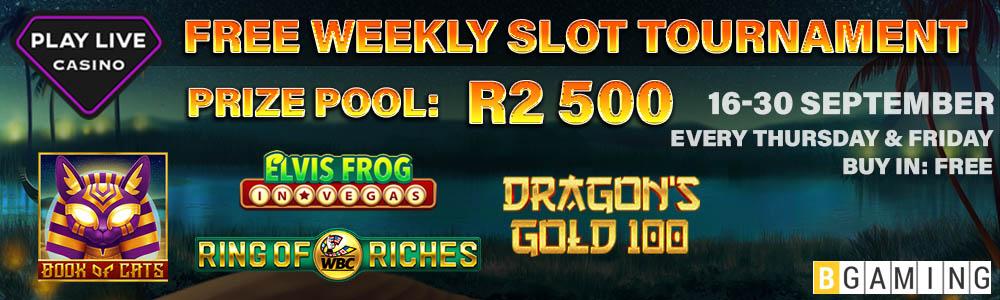 FREE Weekly Slot Tournaments2